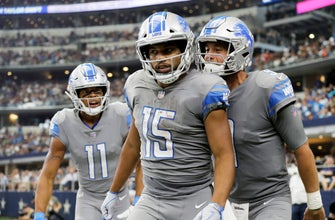 NFL Notes: Lions' Tate helps woman, girl after car accident