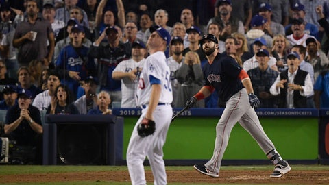 Boston Red Sox down Los Angeles Dodges to win 2018 World Series