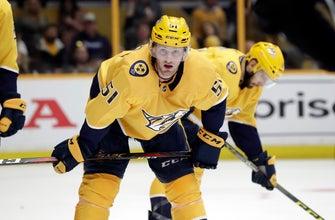 NHL criticizes reduction of suspension for Predators' Watson