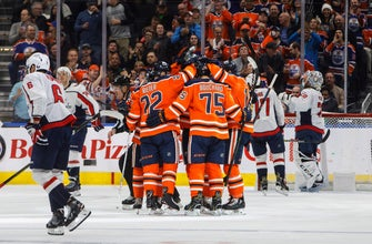 Bouchard gets 1st goal, Oilers beat Capitals 4-1