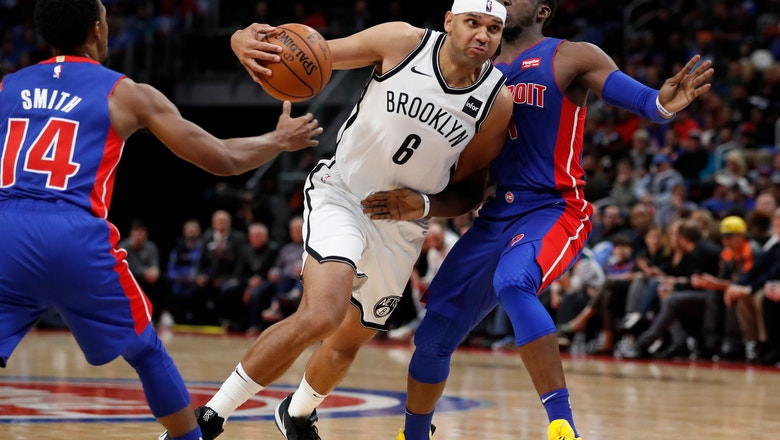 Casey wins debut with Pistons, 103-100 over Nets