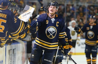 Eichel scores 2 in Sabres' 4-2 win over Golden Knights