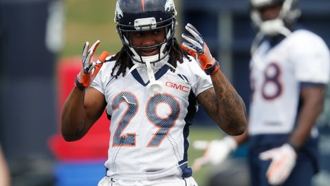 <p>               FILE - In this June 14, 2018, file photo, Denver Broncos defensive back Bradley Roby takes part in drills at the NFL football team's training camp in Englewood, Colo. Roby's poor play and failure to promptly call in sick this week didn't cost the struggling Denver Broncos cornerback his starting job. Roby surrendered three long touchdowns in the second quarter against the New York Jets, including a 76-yard catch and a 77-yard run. (AP Photo/David Zalubowski, File)             </p>