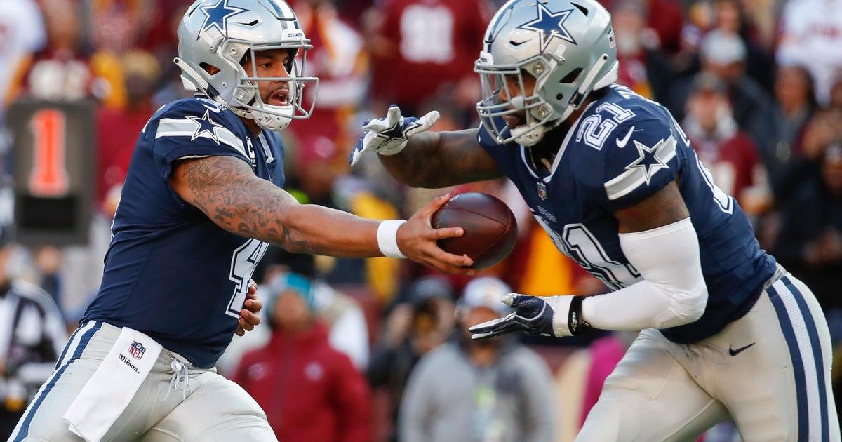 5b60452b778 Cowboys RB Ezekiel Elliott has 2nd-worst rushing game in NFL | FOX Sports