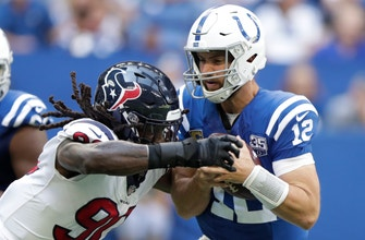 Finally healthy, Clowney dominates for Texans defense