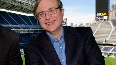 <p>               FILE - In this July 17, 2001 file photo, Seattle Seahawks owner Paul Allen appears in a suite in the team's stadium in Seattle. Allen, billionaire owner of the Trail Blazers and the Seattle Seahawks and Microsoft co-founder, died Monday, Oct. 15, 2018 at age 65. Earlier this month Allen said the cancer he was treated for in 2009, non-Hodgkin's lymphoma, had returned.  (AP Photo/Elaine Thompson, File)             </p>