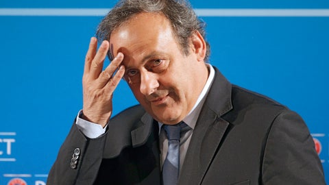 <p>               FILE - In this Feb.22, 2014 file photo, UEFA President Michel Platini arrives at a press conference, one day prior to the UEFA EURO 2016 qualifying draw in Nice, southeastern France. Convinced he was the victim of a plot, former UEFA president Michel Platini has filed a lawsuit in France in a bid to prove that former FIFA officials conspired to get him banned from soccer. Platini's communications team told The Associated Press on Friday, Oct. 12, 2018 that the former France great has filed the suit.  (AP Photo/Lionel Cironneau, File)             </p>