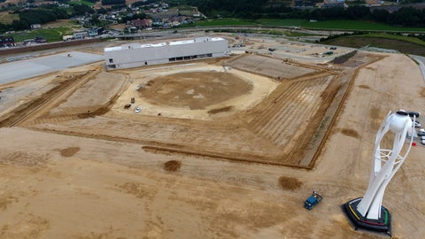 <p>               FILE - This Aug. 25, 2018, file photo, shows a general aerial view of the dismantled stadium for the opening and closing ceremonies of the 2018 Pyeongchang Winter Olympics with the Olympic cauldron, right, in Pyeongchang, South Korea. Pyeongchang is already considering razing some of the venues it built for this year's Winter Games because there's simply no use for them, while Tokyo is reportedly set to spend a staggering $25 billion on the next Summer Games. (Yang Ji-woong/Yonhap via AP, File)             </p>