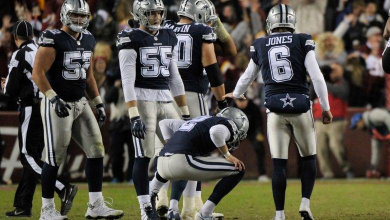 Odd call at odd time dooms Dallas in loss at Washington