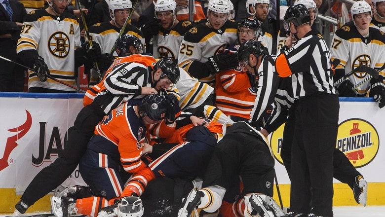 Leon Draisiatl scores in overtime, Oilers beat Bruins 3-2