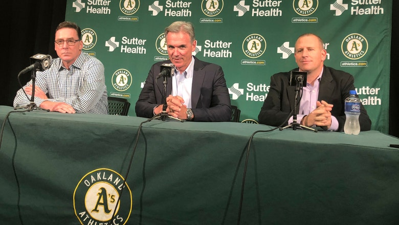 Athletics give contract extensions to Beane, Forst, Melvin