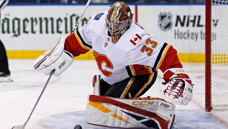 Gaudreau, Hathaway score twice as Flames top Rangers 4-1