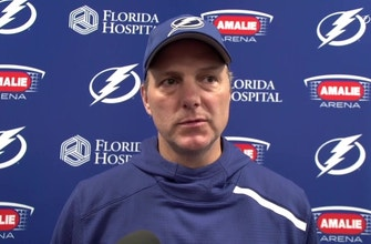 Jon Cooper expands on the status, availability of Victor Hedman and Ondrej Palat