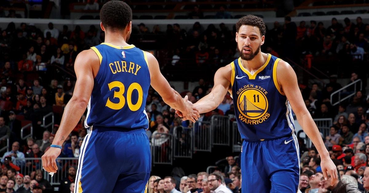 b47c8f679ae8 Colin Cowherd credits Klay Thompson s NBA record performance to Steph Curry