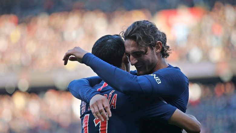 Even without Neymar, French leader PSG routs Amiens 5-0