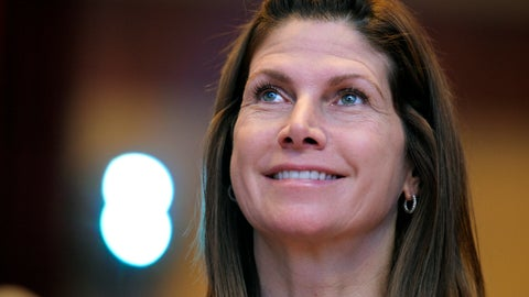 <p>               FILE - In this Feb. 12, 2011, file photo, then-Rep. Mary Bono, R-Calif., listens at the Conservative Political Action Conference (CPAC) in Washington. Former California Congresswoman Bono announced her resignation Tuesday, Oct. 16, 2018, as the interim president at USA Gymnastics after just four days on the job. (AP Photo/Cliff Owen, File)             </p>