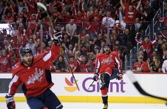 Kuznetsov's 4-point night helps Capitals beat Golden Knights