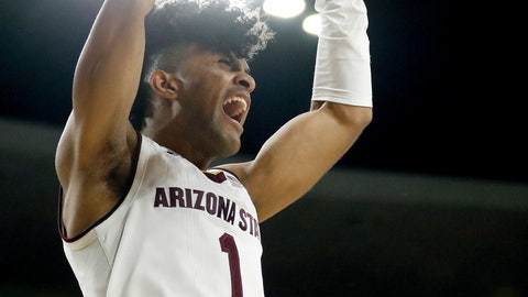 <p>               FILE - In this March 3, 2018, file photo, Arizona State guard Remy Martin (1) dunks against Stanford during the second half of an NCAA college basketball game, in Tempe, Ariz. Arizona State made a run to the NCAA Tournament last season behind a group that became known as Guard U. The Sun Devils' bid for a repeat trip will hinge on a new group that's being called Big Guard U. (AP Photo/Matt York, File)             </p>