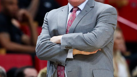 <p>               Orlando Magic head coach Steve Clifford calls plays to the team in the second quarter of a preseason NBA basketball game against the Miami Heat in Miami, on Monday, Oct. 8, 2018. (AP Photo/Brynn Anderson)             </p>