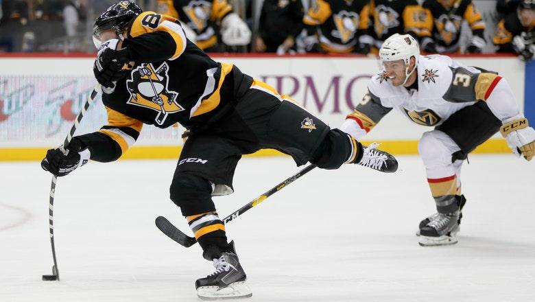 Phil Kessel has natural hat trick, Penguins beat Vegas 4-2