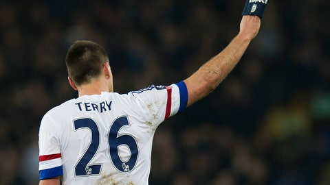 "<p>               FILE - In this Saturday March 12, 2016 file photo Chelsea's John Terry waves to supporters after the English FA Cup quarter-final soccer match between Everton and Chelsea at Goodison Park Stadium, Liverpool, England. Former Chelsea and England captain John Terry has announced his retirement. ""After 23 incredible years as a footballer, I have decided now is the right time to retire from playing,"" Terry said on his official Instagram account on Sunday Oct. 7, 2018.(AP Photo/Jon Super, File)             </p>"