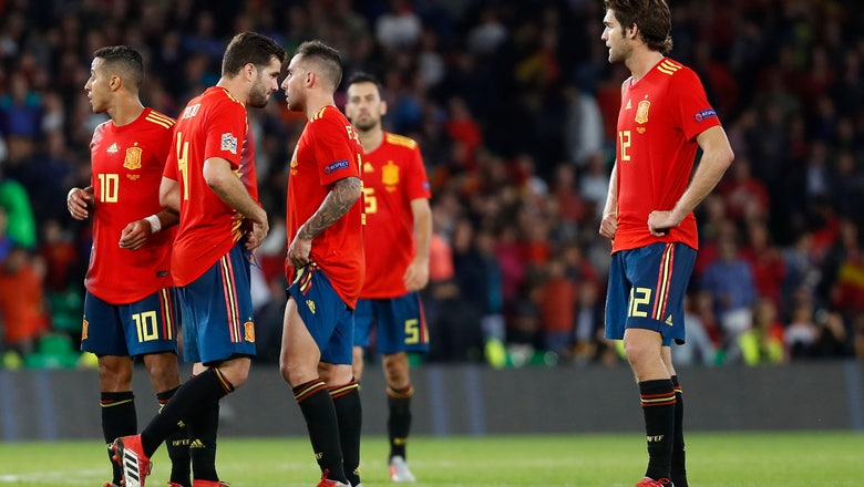 Spain gets reality check after good start under Luis Enrique