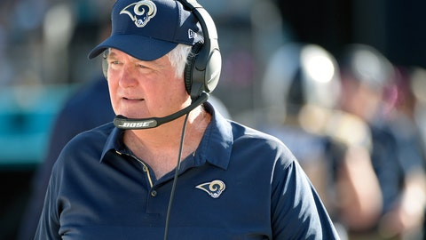 <p>               FILE - In this Oct. 15, 2017, file photo, Los Angeles Rams defensive coordinator Wade Phillips watches from the sideline during the first half of an NFL football game against the Jacksonville Jaguars, in Jacksonville, Fla. Half of the Denver Broncos locker room can't wait to see Rams defensive coordinator Wade Phillips on Sunday _ the defensive portion. Phillips was their leader when the Broncos were riding firetrucks downtown with Von Miller showing off the Super Bowl trophy 2½ years ago. Now 71, Phillips is leading a revitalized defense in L.A. (AP Photo/Phelan M. Ebenhack, File)             </p>