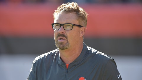 <p>               In this Oct. 14, 2018 photo Cleveland Browns defensive coordinator Gregg Williams walks on the field during an NFL football game against the Los Angeles Chargers in Cleveland. Williams won a Super Bowl in New Orleans. He also was suspended for a year for organizing a bounty scheme with the Saints. He was elevated from assistant to head coach of the Browns when Hue Jackson was fired Monday, Oct. 29, 2018. He has quite the resume for his work building aggressive and usually successful defenses. That resume is tainted by what went down in New Orleans. (AP Photo/David Richard)             </p>