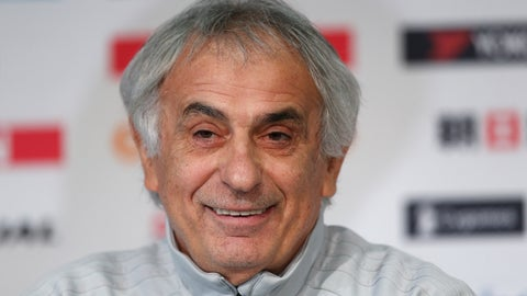 <p>               FILE - In this Nov. 9, 2017 file photo, Japan's coach Vahid Halilhodzic smiles during a press conference, in Villeneuve d'Ascq, near Lille, northern France. Halilhodzic is taking over as Nantes coach after the French side replaced Portuguese coach Miguel Cardoso on Tuesday, Oct. 2, 2018 following a poor start to the season. (AP Photo/Michel Spingler, File)             </p>