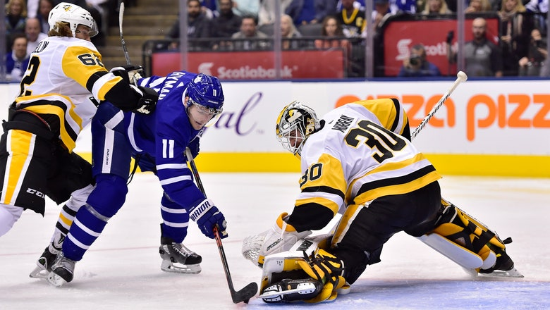 Penguins end Maple Leafs' 5-game winning streak