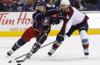 Foligno scores twice as Blue Jackets beat Avalanche 5-2