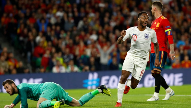 England stuns Spain 3-2 in UEFA Nations League