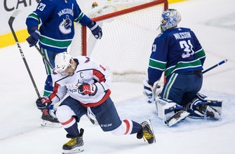 Ovechkin has 2 goals, 2 assists as Caps beat Canucks 5-2