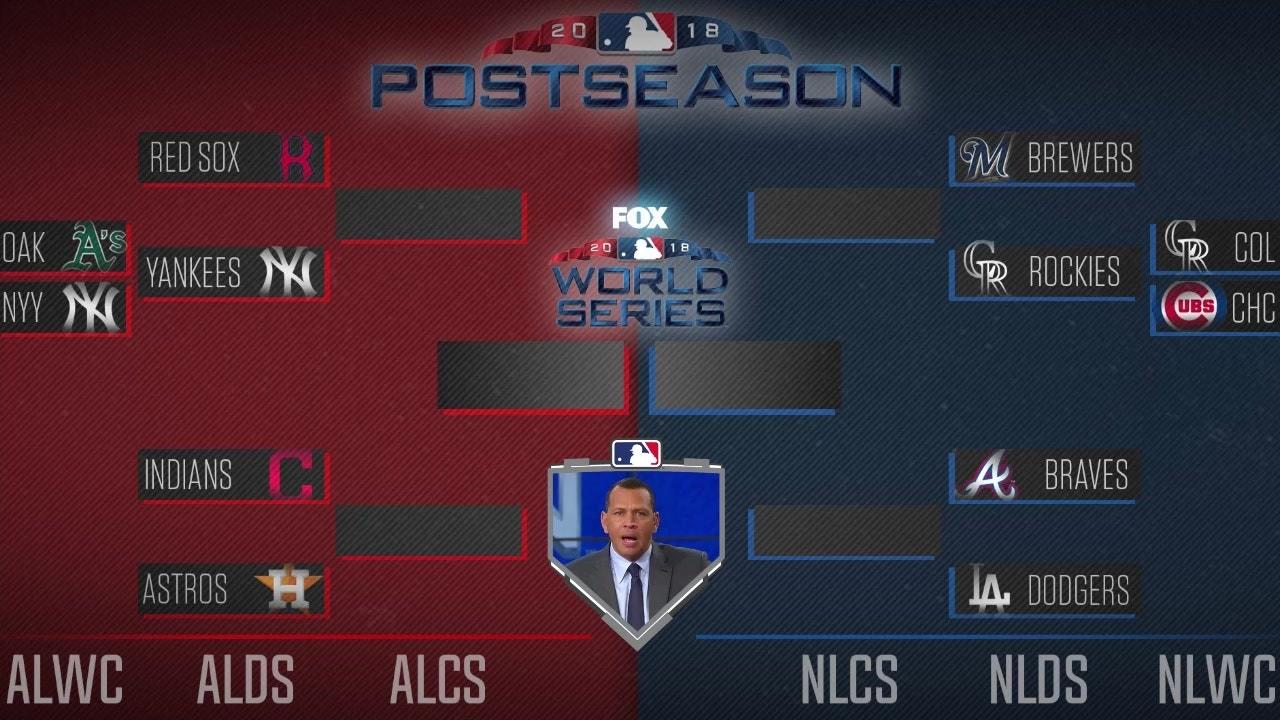 Alex Rodriguez S Mlb Postseason Bracket Will It Be A Yankees Dodgers World Series Fox Sports