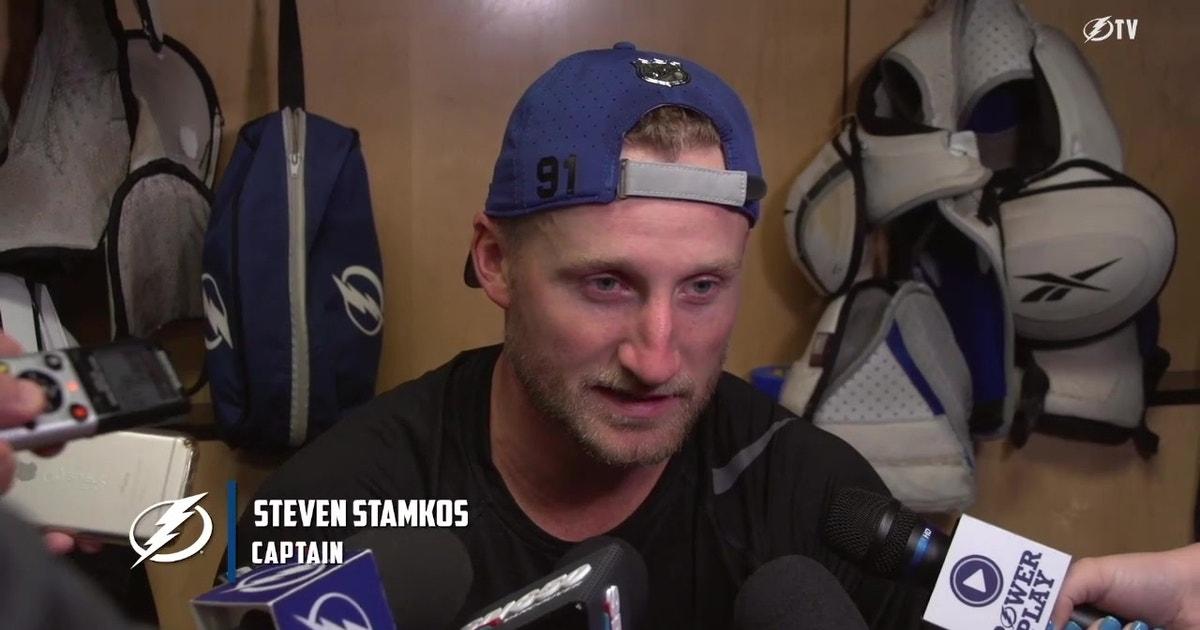 Steven Stamkos ready for the routine of the regular season