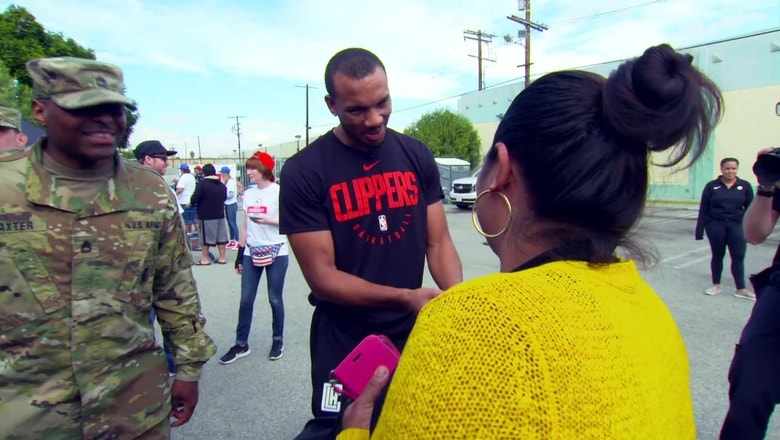 Clippers Weekly: Clippers Salvation Army Event