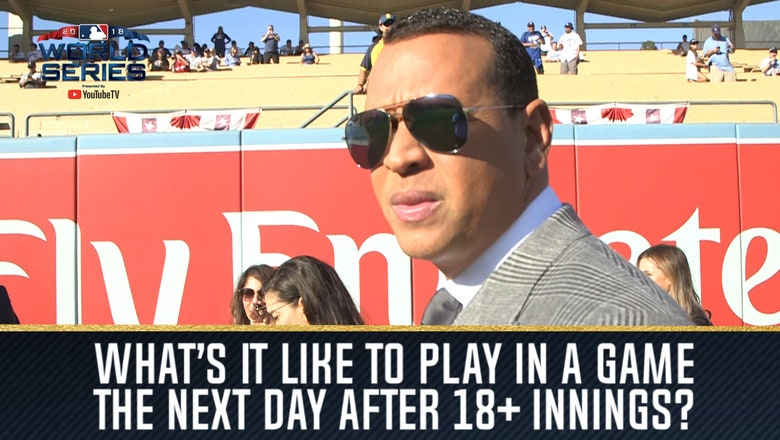 A-Rod, Big Papi and Frank Thomas detail what it's like to play the day after an 18-plus-inning game