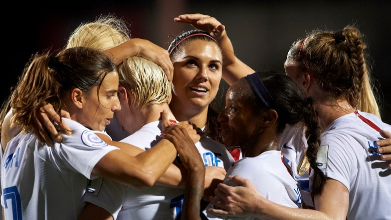 The USWNT officially qualifies for the 2019 FIFA Women's World Cup | 90 in 90: United States vs. Jamaica