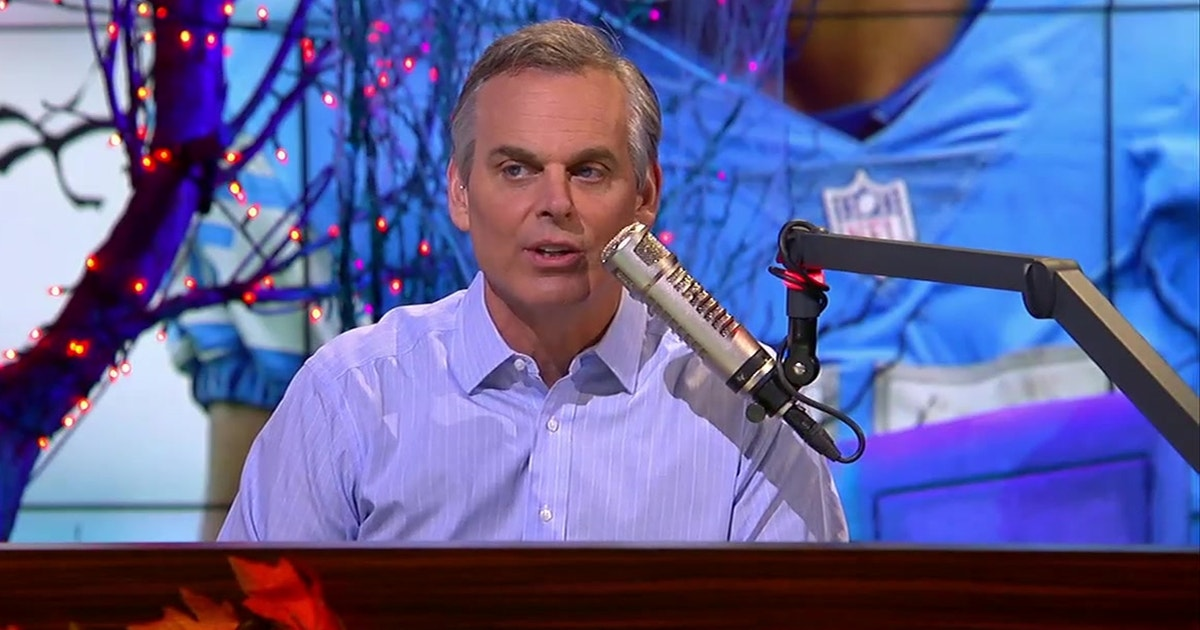 Not just icing — Colin Cowherd has a newfound appreciation for WRs in the NFL