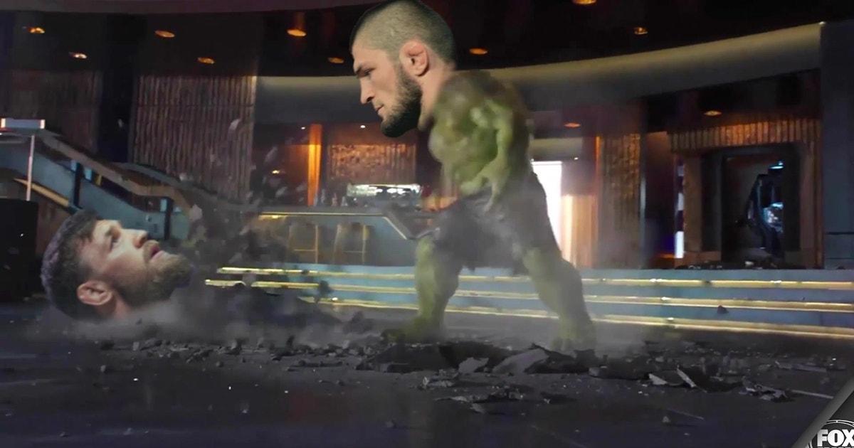 Here's a perfect summary of Conor McGregor vs. Khabib Nurmagomedov at UFC 229
