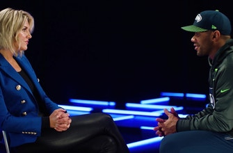 Russell Wilson discusses leadership, locker room culture with Charissa Thompson