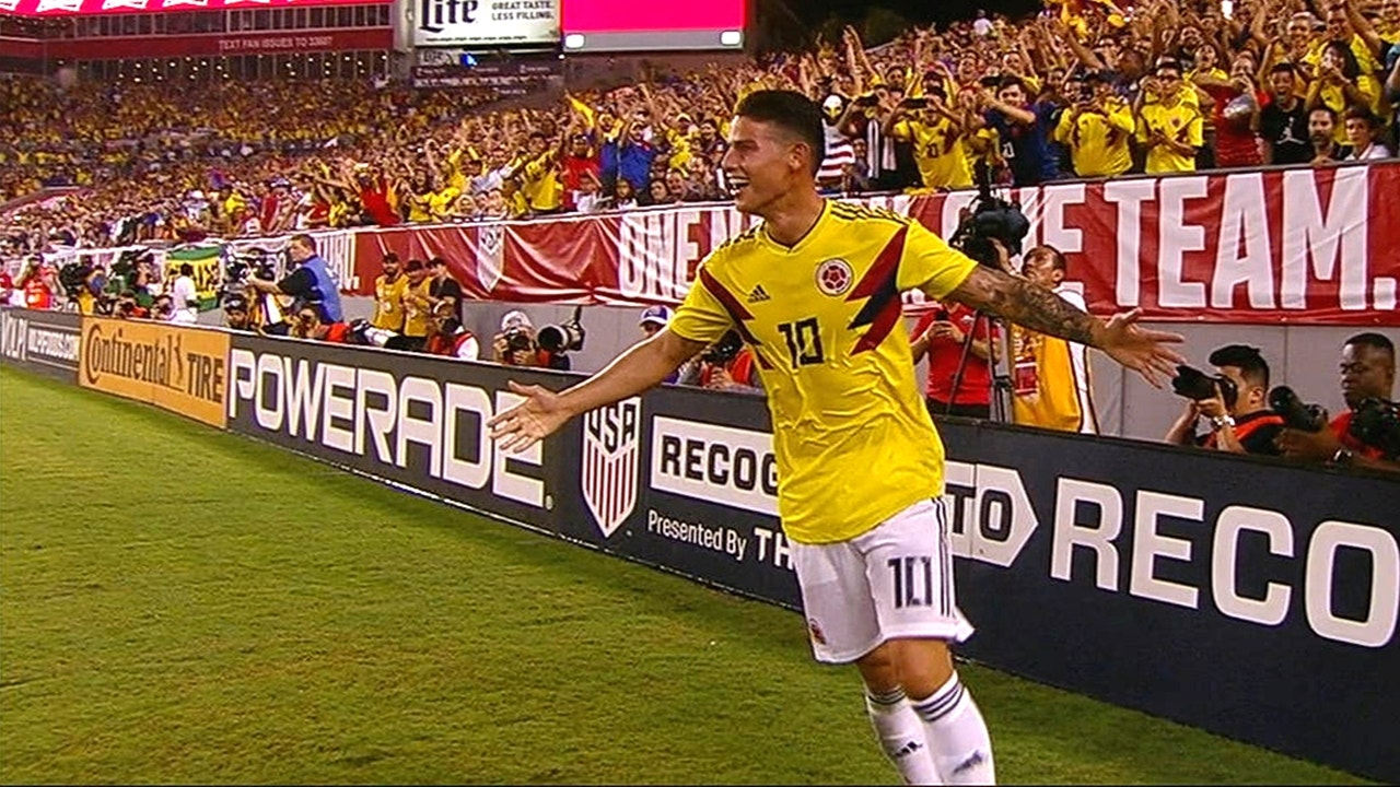James Rodriguez scored an absolute must-see stunner of a curving goal  against the USMNT  e0755f0f2
