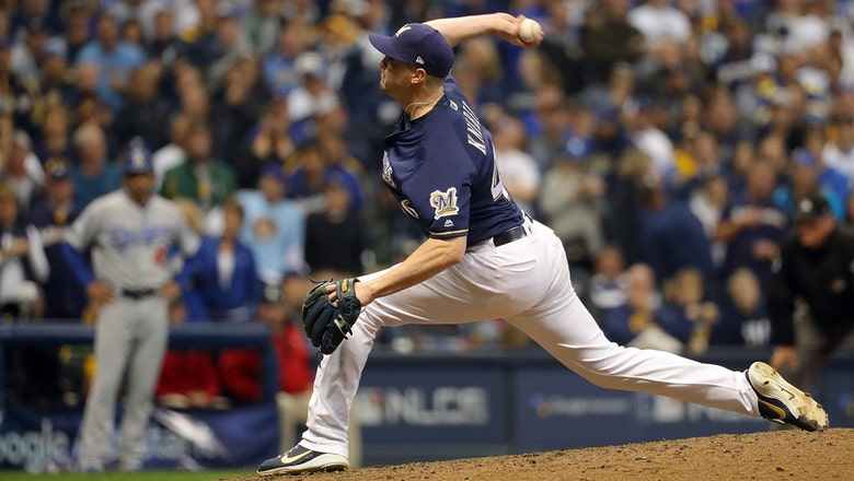 Brewers' dynamic bullpen slowed with injuries as opening day approaches