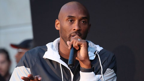 LOS ANGELES, CA - OCTOBER 23:  Kobe Bryant speaks as Nike celebrates the 30th anniversary of the 'Just Do It' campaign with a special appearance from Kobe Bryant at Nike The Grove for the release of his first book, 'The Mamba Mentality: How I Play.' on October 23, 2018 in Los Angeles, California.  (Photo by David Livingston/Getty Images)