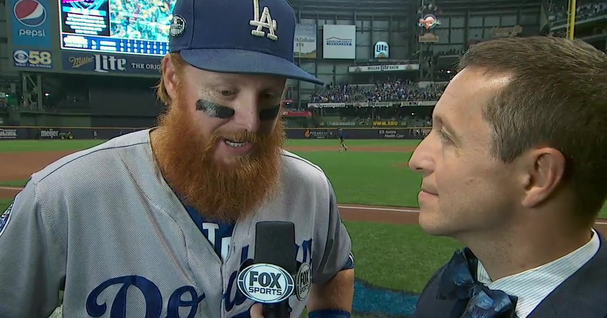 King Clutch: Justin Turner on bouncing back in Game 2 with a huge HR for the Dodgers