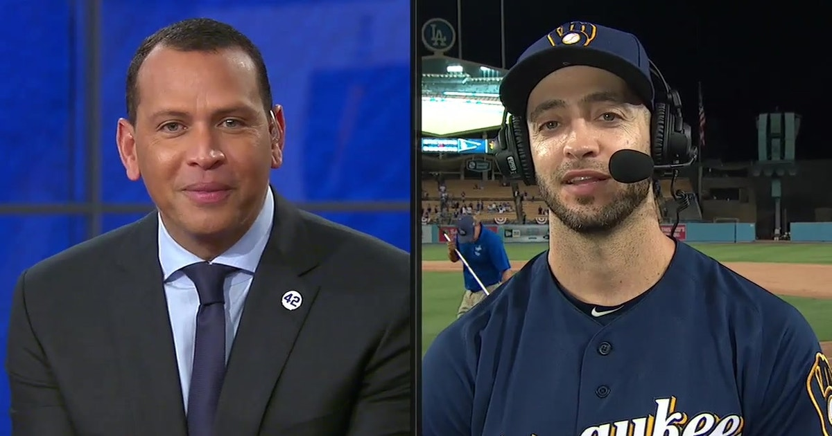 Ryan Braun joins Alex Rodriguez, MLB on FOX crew after Brewers NLCS Game 3 win
