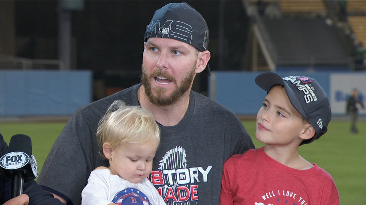 ff37f7c77 Chris Sale s adorable kids steal the show