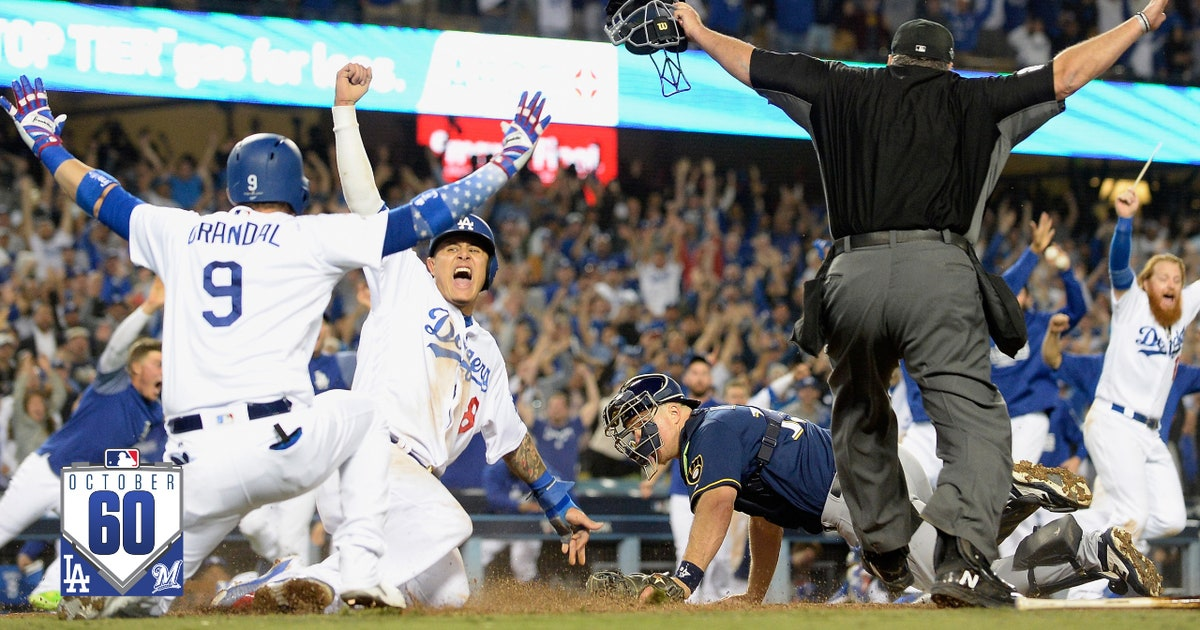 Xem 60 giây tốt nhất từ Brewers vs. Dodgers NLCS Game 4 | # October60