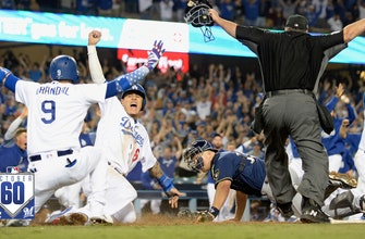 Watch the best 60 seconds from Brewers vs. Dodgers NLCS Game 4 | #October60