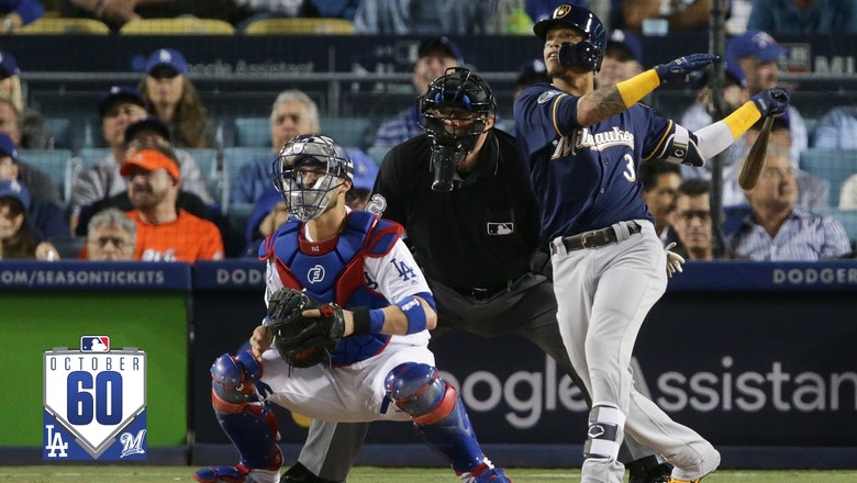 Watch the best 60 seconds from Brewers vs. Dodgers NLCS Game 3 #October60